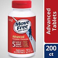 Move Free 红瓶基础款维骨力200粒 大瓶装