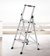 小编同款 加大加宽踏板:创步 家用不锈钢折叠梯