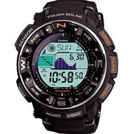 测温+潜水+太阳能+海拔+测方向!CASIO 卡西欧 Pro Trek系列 PRW2500R-1 男士太阳能腕表