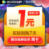 腾讯视频VIP会员7天卡