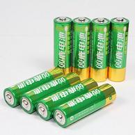 10年保质期,双鹿 碱性电池 5号12粒+7号12粒