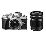 22点:Olympus 奥林巴斯 双镜头套装相机 E-M10 14-42mm EZ + 40-150mm R