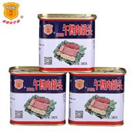 中粮 梅林 午餐肉罐头340gx3罐