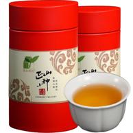 农庄有约 正山小种 武夷红茶礼盒 100gx2罐 x2件