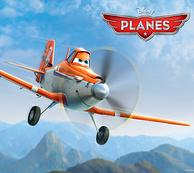 《飞机总动员》主角:Dusty 达斯蒂 英雄小飞机模型玩具3.15美元约¥19