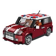 492块颗粒:LOZ 俐智 1111 MINI汽车模型积木