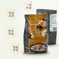 值哭:英国进口  1kgx6袋Waitrose杏仁蜂蜜麦片