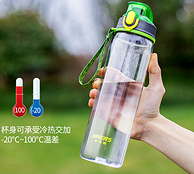 降5元!婴儿奶瓶材质:HAERS 哈尔斯 Tritan运动水杯 500ml