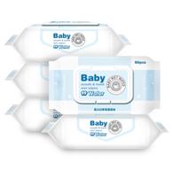 手口可用、无香:优普爱 婴儿手口湿纸巾 80抽x5包