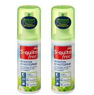 效果长达8小时,dm S-quito free 儿童防蚊虫喷雾驱蚊水液 100mlx2瓶
