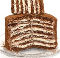 4種口味、俄國進口 500gx6 雙山牌 提拉米蘇千層蛋糕
