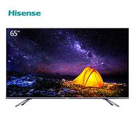 145% BT.709色域+4K 65寸!海信 E8星夜系列 HZ65E8A 65英寸 量子点 液晶电视