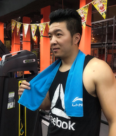透氣+吸汗+快速降溫:李寧 冷感運動毛巾 30x100cm