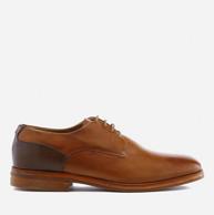 限UK8-10码:Hudson London Enrico 男士 小牛皮皮鞋