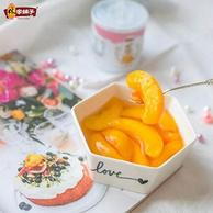 林家鋪子 冰糖黃桃罐頭200gx4罐