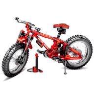 306颗粒:新森宝 双变山地自行车 积木