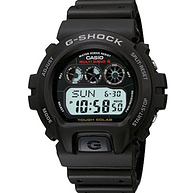 2件!CASIO 卡西欧 G-Shock系列 GW-6900-1 中性款电波表 121美元约¥835(之前推荐75英镑/件)