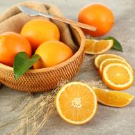 4件 京觅 秭归 应季伦晚鲜橙 10斤 钻石果
