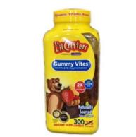 2瓶x300粒 美国 L'il Critters 丽贵 小熊糖 多种维生素软糖