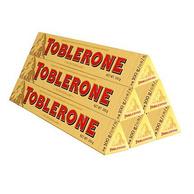 10月到期, Toblerone 瑞士 三角 牛奶巧克力 100gx6根