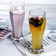 2只 Libbey 利比 玻璃 啤酒杯458ml