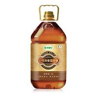 0点:中粮出品,荆楚花 小榨浓香菜籽油5Lx2件