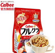 京东PLUS会员:700gx5件, Calbee卡乐比 北海道产富果乐水果麦片