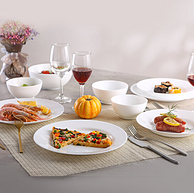 Luminarc 乐美雅 时光系列 钢化玻璃餐具套装 18件套
