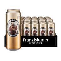 德国原装 Franziskaner 范佳乐 小麦啤酒500mlx24听