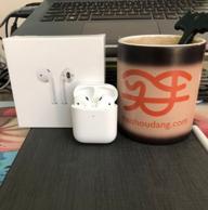 第一次购买airpods:苹果Airpods 二代晒单 100金币晒单 变色杯额外奖励20%