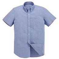 100%棉:凡客诚品 全棉水洗牛津坊短袖衬衫