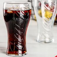 可口可乐正版授权,帕莎帕琦 500ml 无铅玻璃杯2只
