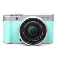 7cm微距+wifi分享:富士 XA20 数码相机套机(15-45mm)