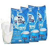 1kgx3袋,Devondale 德运 全脂成人奶粉