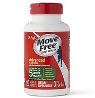 母亲节送礼!添加MSM,Schiff Move Free 氨糖维骨力氨糖软骨素  绿瓶 120粒