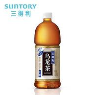 大瓶装,三得利 无糖乌龙茶 饮料 1.25Lx6瓶