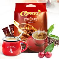 马来进口 Cephei 奢斐 3合1 特浓咖啡16gx50条