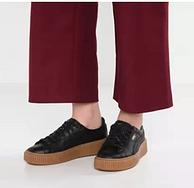 限尺码,PUMA彪马 Smash Platform L女士松糕底板鞋