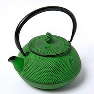 OIGEN 及源铸造 南部铁器系列茶壶 0.6L 草绿色