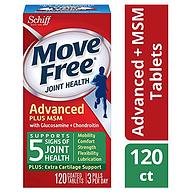 Move Free Schiff 维骨力 MSM款 绿瓶 120粒