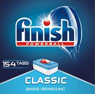 史低一直都1元/块!154块x2件 Finish 亮碟 classic 洗碗机专用洗涤块
