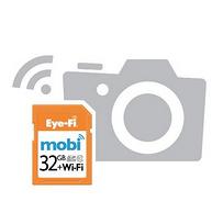 历史低价!Eye-FiMobi 32GClass10无线存储卡74.99美元约¥469(官网16G 600元)