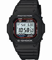 2件!CASIO 卡西欧 G-SHOCK GWM5610-1 男士电波腕表