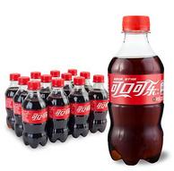 肥宅快乐水~Coca-Cola 可口可乐 碳酸饮料 300mlx12瓶