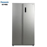 24期免息!Panasonic 松下 NR-EW57S1-S 570升 对开门冰箱