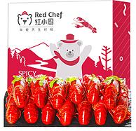 4-6钱,星农联合 红小厨 麻辣小龙虾 1.5kg(净虾750g)x3件