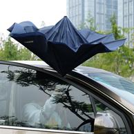 上下车不再打湿衣裤:途虎 AP-TH-FXS|1 双层免持式反向伞