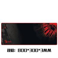 双飞燕 血手幽灵 大号 鼠标垫 800x300x3mm