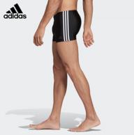 INFINITEX面料、抗氯速干:阿迪达斯 男抗氯速干竞技泳裤