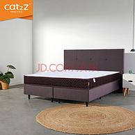 邦尼尔弹簧+天然乳胶:180x200cm CatzZ 泰国天然乳胶床垫